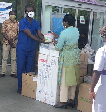 3Foundation, Herona Company donate medical equipment to health facilities