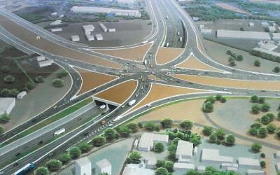 Opening of Tema Motorway interchange: Police deployed to guide road users