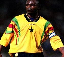 Ex-Ghana skipper Abedi Pele ranked 4th greatest African footballer of all-time