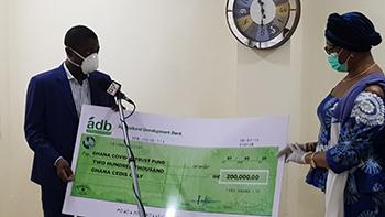 Yara Ghana donates to COVID-19 National Trust Fund