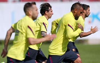 Messi looking forward to La Liga restart