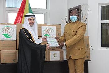 Kingdom of Saudi Arabia donates dates to government