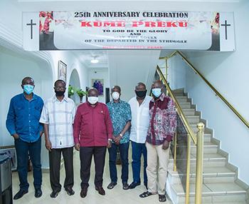 "President, others observe 25th anniversary of ""Kume Preko"" demo"