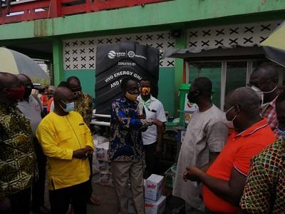 Vivo Energy supports traders, drivers at K'dua