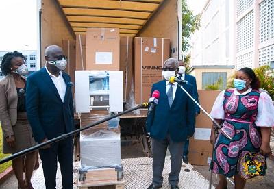 2 coys donate 10 ventilators to fight COVID-19