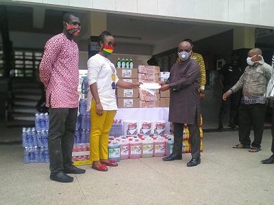 AGI donates PPE, GH¢10,000 to VRCC