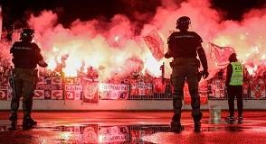 Belgrade derby held in front of 25,000 fans