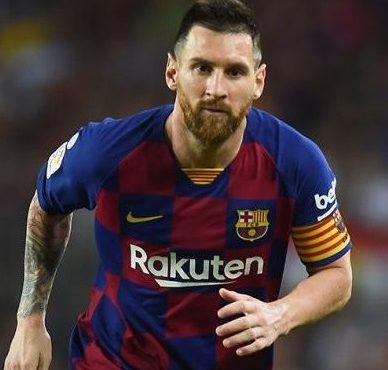Messi back in Barca trainingahead of Mallorca restart