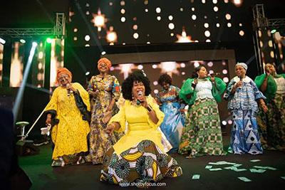 Gospel legends honoured at Women In Worship