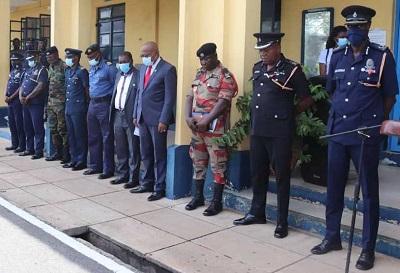 Western Regional Police honours four fallen heroes