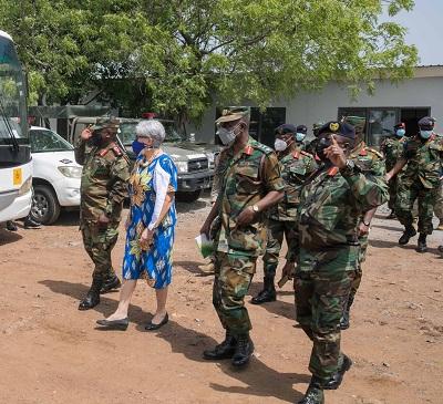 United States, GAF partner to build capacity at Bundase Training Camp