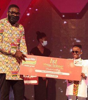 Akwaada Nyame wins 2021 talented kidz