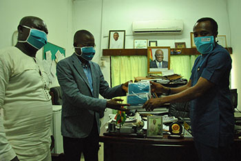 Coastal Development Authority donates PPE to NTC