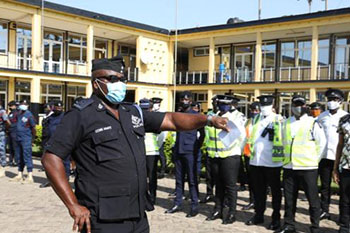 158 Police Facilities To be Disinfected in A/R