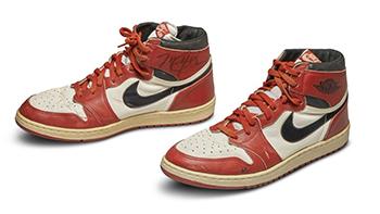Record sale at Michael Jordan's Trainers auction