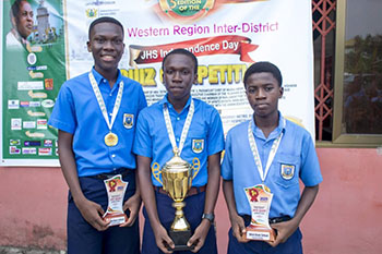 UMaT retains W/R Indece Day inter-district quiz competition