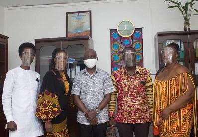 Wear Ghana Ambassador calls on GTP