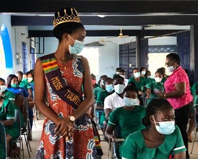 Miss Tourism Ghana observes Global Handwashing Day
