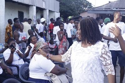 Naa Koshie Odamtten launches campaign at La-Dade Kotopon