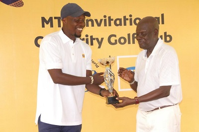 Golf: AGolf: Akafo rides high in kafo rides high in MTN Invitational tourney