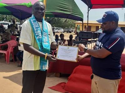 Joseph Nii Quaye Armah adjudged best farmer at Ningo Prampram