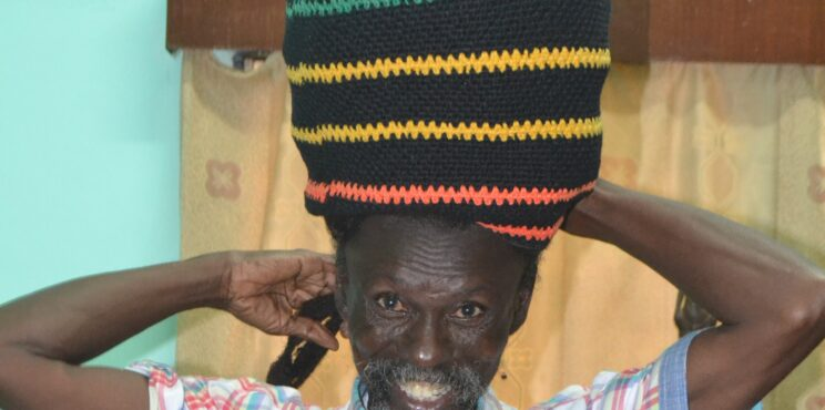 Kwaku Antwi Boasiako in 'comfortable lead' with his 12-feet Rasta hair
