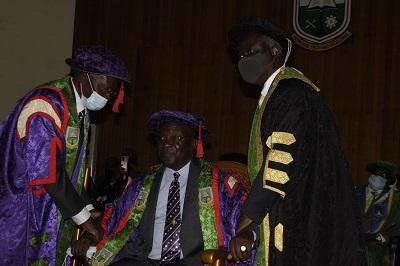 Prof. Richard Kwasi Amankwa takes office  as  third  UMAT  Vice-Chancellor