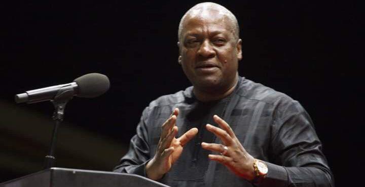John Mahama, NDC suspend campaign over death of Rawlings