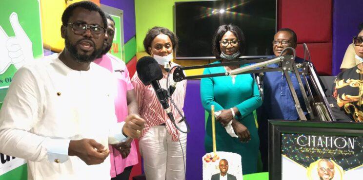 GOSPEL 360 AFRICA HONOURS ABEIKU SANTANA FOR PIONEERING LIVE WORSHIP ON RADIO IN GHANA'S BROADCASTING