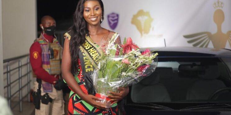 Serwaa Manu crowned Miss Health Ghana 2020