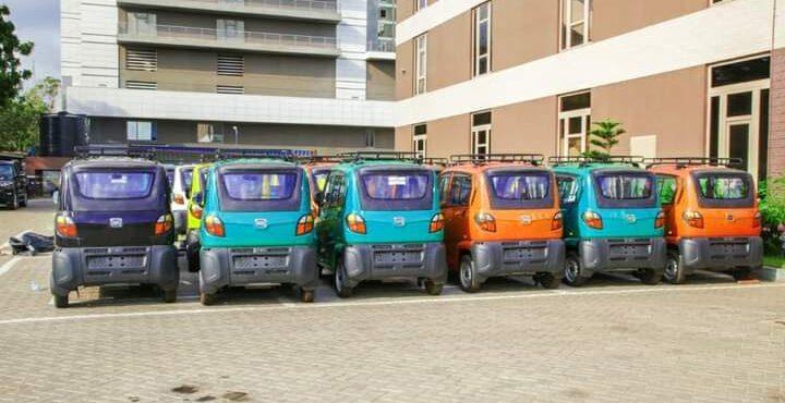 CODA outdoors new vehicles for Okada riders, others