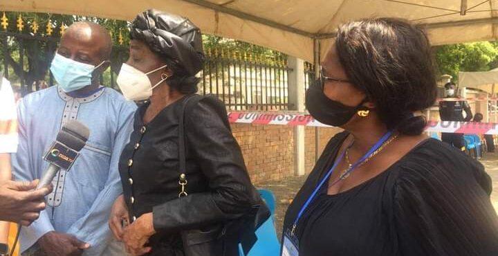 Nana Konadu Agyemang-Rawlings casts ballot in Korle-Klottey Constituency