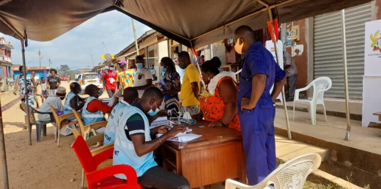 Smooth voting process at polling stations in Abuakwa North and South Constituencies