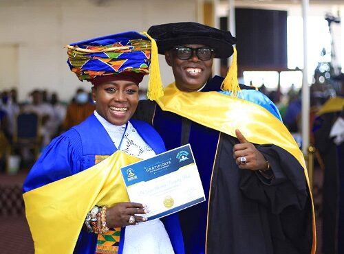 Akumaa Mama Zimbi graduates from Bible school