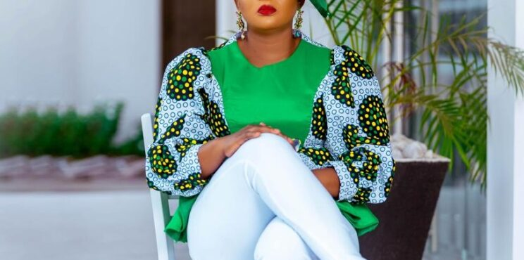 Ms.Elorm Flolu, the face behind Emeralds Clothing