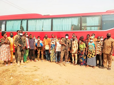 Illegal entry into Ghana: 51 foreigners deported …after being intercepted at Asikuma Inland Check Point in V/R