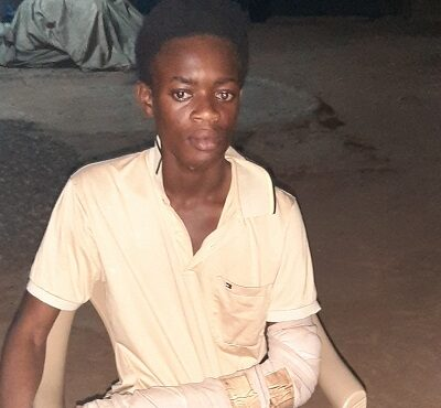 Chinese business man abondons injured Ghanaian worker?