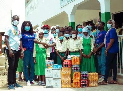 YAGA Cares Foundation donates to Islamic schools in Accra