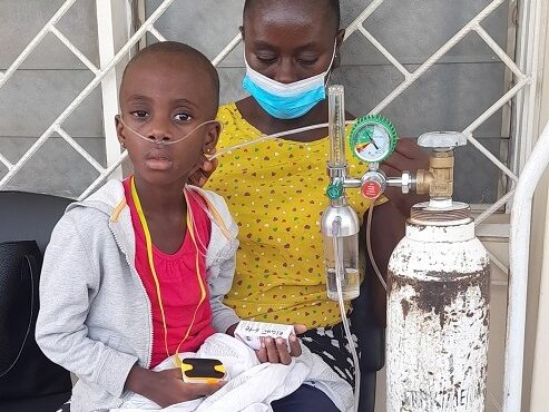 A 4-year old girl living on oxygen needs help