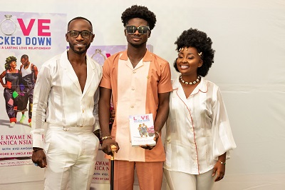 Former First Lady reviews 'Love Locked Down' books by Okyeame Kwame and wife