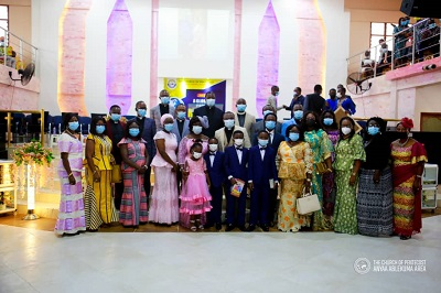 Church of Pentecost honours Apostle Gakpetor and family
