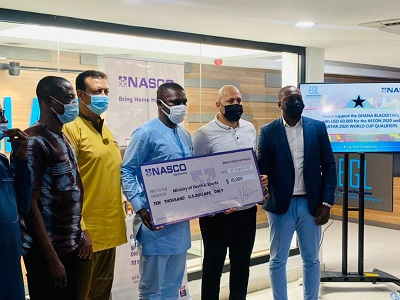 NASCO Electronics commits USD 60,000 to Black Stars AFCON, World Cup bid