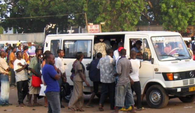 The 'misfortune' of using trotro as a means of transport
