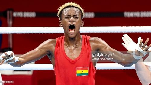 Takyi's bravado saves a  nation's Olympic blushes