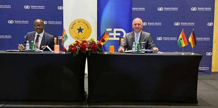 Bank of Ghana partners German firm to rollout digital currency