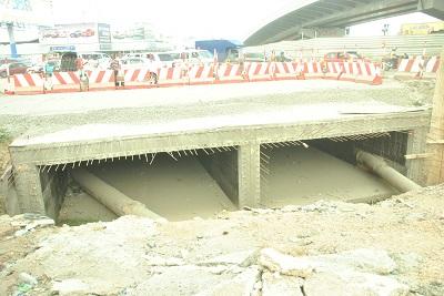 Work on Obetsebi-Lamptey Interchange phase II progresses steadily