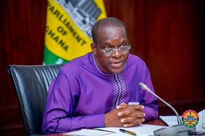 Parliament: Bagbin 'arrested 'in a 'red' lie net?