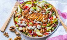 Chicken cheese salad