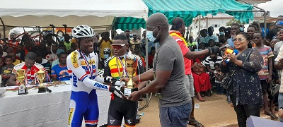 Autistic cyclist dazzles at Homowo Cycling Challenge