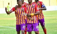 Big advantage for Hearts…to play CL Kamsar in Accra